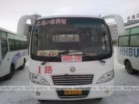 Городские автобусы в Хэйхэ